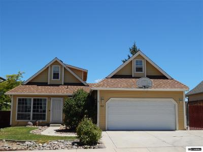 Carson City County Single Family Home New: 1569 Walker