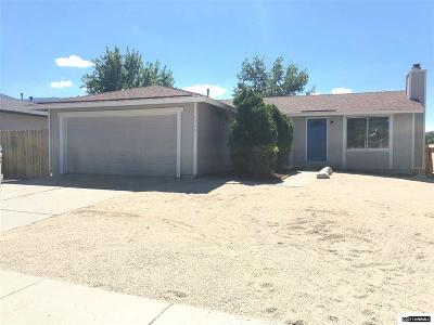 Reno Single Family Home Active/Pending-Loan: 13061 Exinite Drive