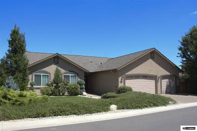 Carson City Single Family Home Price Reduced: 2937 Gentile Crt