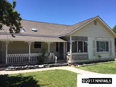 Yerington Single Family Home For Sale: 125 S Nevada St.