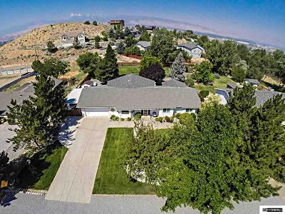 Washoe County Single Family Home Price Reduced: 14345 Chamy Drive