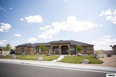 Sparks Single Family Home Active/Pending-Loan: 11960 Topaz Creek Dr