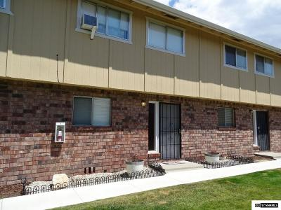 Carson City Condo/Townhouse Back On Market: 1314 Ashby