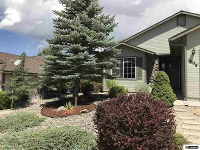 Carson City Single Family Home Active/Pending-House: 1008 Ridgeview Drive