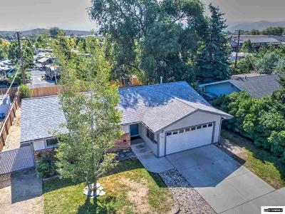 Carson City Single Family Home Active/Pending-Loan: 2209 Michael Dr