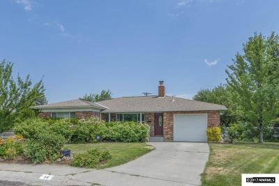Washoe County Single Family Home Active/Pending-Call: 50 Robin Place