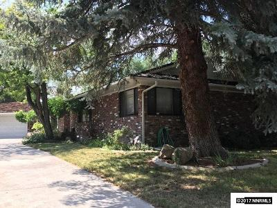 Washoe County Single Family Home Active/Pending-House: 2315 Homestead Place