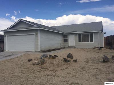 Fernley Single Family Home Active/Pending-Loan: 405 Wasatch