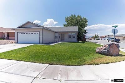 Fernley Single Family Home Active/Pending-Loan: 619 Annie Way