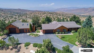 Reno Single Family Home For Sale: 855 Curnow Canyon Road