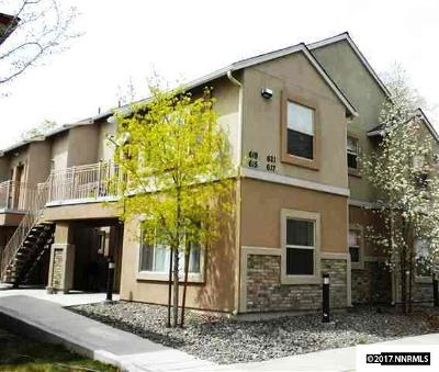 Washoe County Condo/Townhouse For Sale: 617 Elko