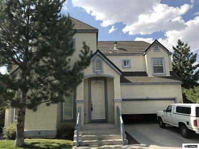 Washoe County Single Family Home Active/Pending-Short Sale: 3536 Brassie