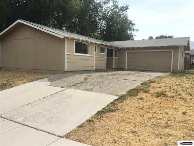 Carson City Single Family Home For Sale: 410 Rawhide Way