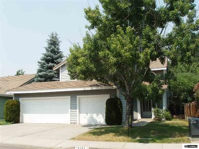 Washoe County Single Family Home Price Reduced: 3101 Bramble Drive