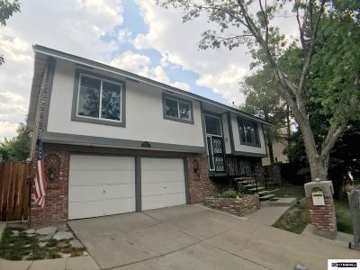 Reno Single Family Home Active/Pending-House: 3635 Pomo