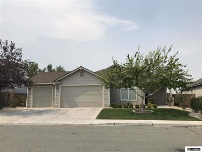 Fernley Single Family Home Active/Pending-Loan: 980 Agate Way