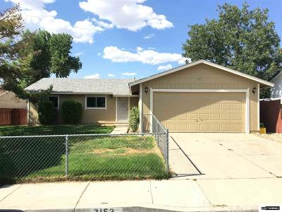 Carson City Single Family Home For Sale: 3152 Gordonia Dr
