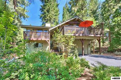 Incline Village Single Family Home For Sale: 584 Sugarpine Drive