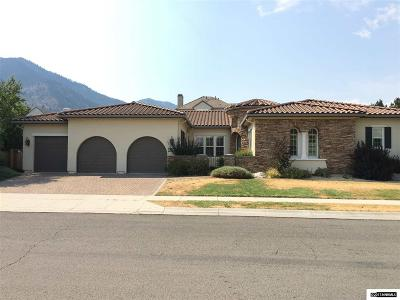 Genoa Single Family Home Active/Pending-Loan: 2860 Cloudburst Canyon Drive
