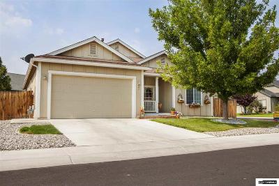 Fernley Single Family Home For Sale: 941 Iris