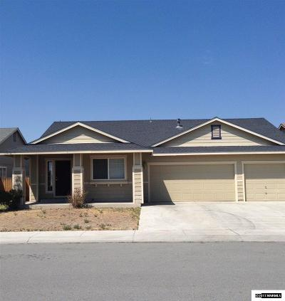 Fernley Single Family Home For Sale: 1508 Trubode Lane