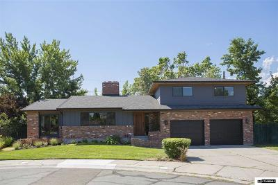 Reno Single Family Home Active/Pending-Loan: 1550 Swan Circle