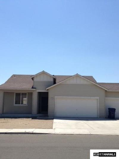 Fernley Single Family Home Active/Pending-Loan: 1155 Mountain Rose Drive