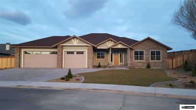 Gardnerville Single Family Home For Sale: 1031 Cobblestone