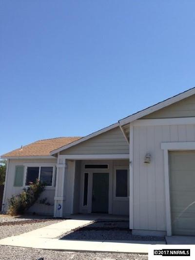 Fernley Single Family Home Active/Pending-Loan: 1475 Green River Lane