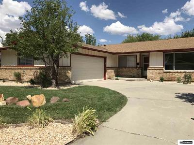 Carson City Single Family Home Active/Pending-Loan: 1837 Pyrenees