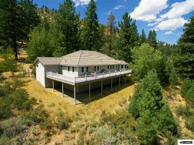 Carson City Single Family Home For Sale: 4661 Wagon Wheel Rd