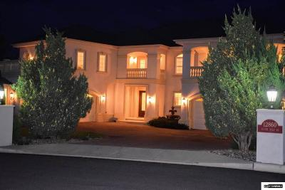 Reno Single Family Home For Sale: 12860 Silver Wolf Road