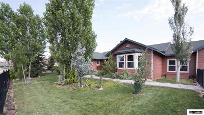 Storey County Single Family Home Active/Pending-Loan: 3270 Cartwright Rd
