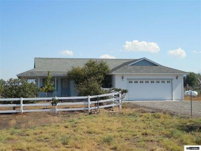 Gardnerville Single Family Home For Sale: 1321 Cal Court