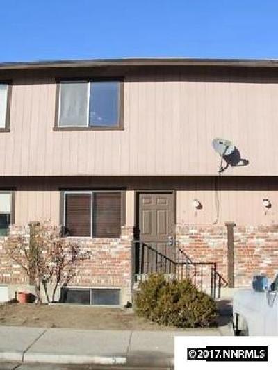 Reno Condo/Townhouse For Sale: 1414 E 9th #3