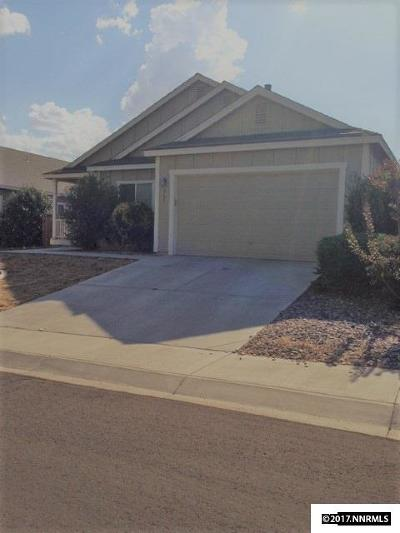 Fernley Single Family Home Active/Pending-Loan: 945 Aster
