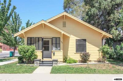 Sparks Single Family Home For Sale: 1560 A St.
