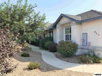 Fernley Single Family Home For Sale: 639 Saddle Horn Way