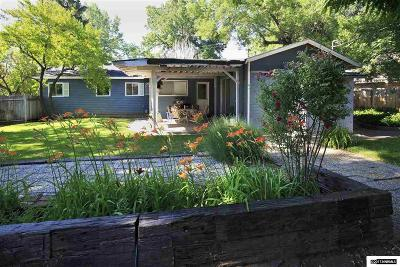 Carson City Single Family Home For Sale: 402 West 6 Th Street