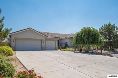 Reno Single Family Home For Sale: 4930 W Hidden Valley