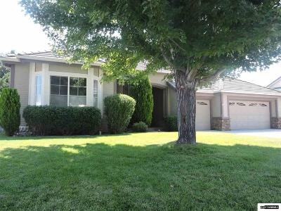 Carson City Single Family Home Active/Pending-Loan: 679 Derby Ct