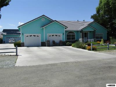 Yerington Single Family Home For Sale: 44 Ash St.