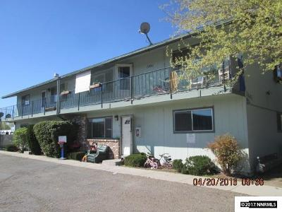 Carson City Multi Family Home Active/Pending-Loan: 1841 E Long St