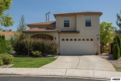 Sparks Single Family Home For Sale: 2920 Antella Court