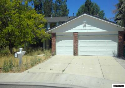 Reno Single Family Home Auction: 975 Twin Pines Rd