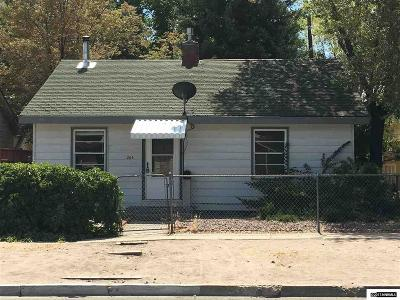 Carson City Single Family Home Active/Pending-Call: 205 W Fourth Street