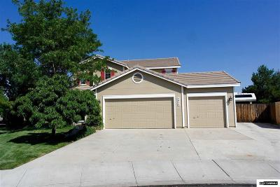 Sparks Single Family Home For Sale: 3030 Tagus Ct