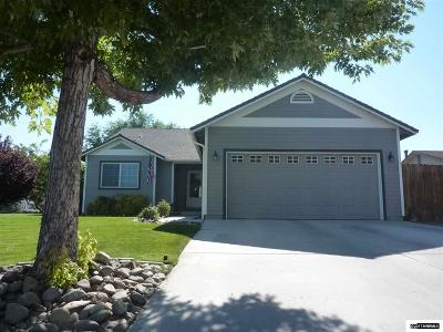 Gardnerville Single Family Home New: 733 Bowles