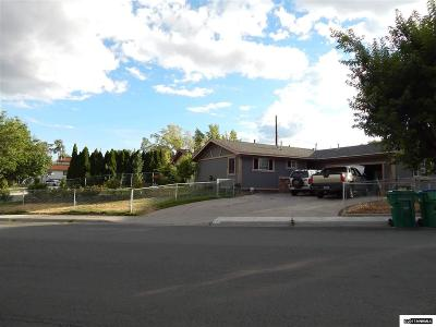 Reno Single Family Home New: 3485 Everett Dr