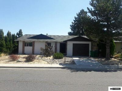Reno Single Family Home Active/Pending-Loan: 11140 White Sage Drive